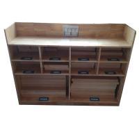 三新 SX49 小格子积木柜 幼儿园家具 松木材质 123*40*103cm