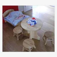 三新 SX54 娃娃家五件套 幼儿园家具 松木材质