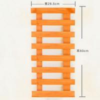 倍豪 内墙置物架 橘黄 60*28.5cm