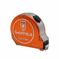 钢盾(SHEFFIELD)S077503 卷尺 铝合金自锁卷尺3m 12个/包 单包
