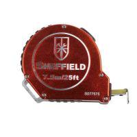 钢盾(SHEFFIELD)S077575 卷尺 铝合金自锁卷尺7.5m 12个/包 单包