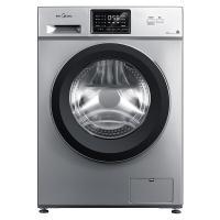 美的(Midea)MG100V331DS5 全自动滚筒洗衣机 10公斤 巴氏除菌 变频 智能 银灰色