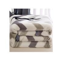 名莎 法兰绒毛毯被子 双层加厚180x220mm