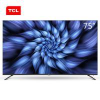 TCL 75V2 液晶电视机 75英寸 黑色 一年质保