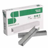 三木(SUNWOOD)P23-50 50页厚层订书钉 23/8 1000枚/盒 10盒/包 单包
