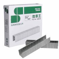 三木(SUNWOOD)P23-100 100页厚层订书钉 23/13 1000枚/盒 10盒/包 单包