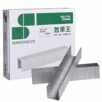 三木(SUNWOOD)P23-120 120页厚层订书钉 23/15 1000枚/盒 10盒/包 单包