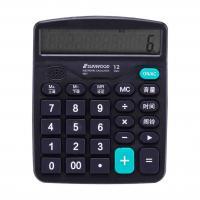三木(SUNWOOD)P837 语音型计算器 单个 黑色
