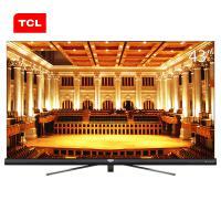 TCL 43C6 43英寸4K超高清電視機 支持有線/無線連接 3840x2160分辨率 LED顯示屏 二級能效 一年保修 黑色