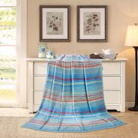 水星家纺(MERCURY)抗菌法兰绒毯-清漾 150*200cm