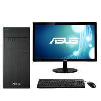 华硕(ASUS)D640MB-I3D00006 商用台式电脑 I3-8100 4G 1T机械硬盘 集显 无光驱 DOS +19.5英寸显示器 三年质保