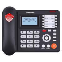 纽曼(Newmine)HL2008TSD-818(R) 录音电话机 录音电话行业优选(语音导航 中文通讯录 名片弹屏) 单台 黑色