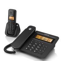 摩托罗拉(Motorola)C2601 无线座机 子母机 黑色