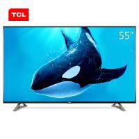 TCL D55A620U 55英寸網絡液晶電視 黑色