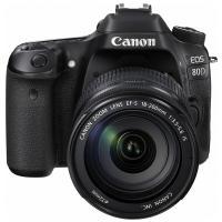 佳能(Canon)EOS 80D 单反相机(EF-S 18-200mm f/3.5-5.6 IS 单反镜头)黑色 一年质保