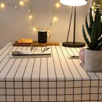 昊亮 书桌桌布 80*120cm 白格