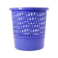 欧标(MATE01ST)F4617 垃圾桶 圆形纸篓 单个 深蓝
