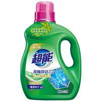 超能 植翠低泡洗衣液 柔顺舒适 2.5kg 单桶 绿色