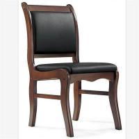 富琪莱(FQL)640 实木皮革会议椅靠背椅40*40*90cm