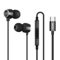 纽曼(Newmine)XTE02  TypeC接口手机线控耳机 单条 黑色