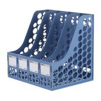 晨光(M&G)ADM94740B 加厚四联文件框 4个装 蓝色