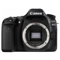 佳能(Canon)EOS 80D 单反相机 APS画幅传感器 2420万像素 3英寸显示屏 自动对焦 无内置存储 单机身 一年保修 黑色