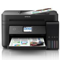 爱普生(EPSON)L6198 A4墨仓式彩色多功能传真一体机 打印/复印/扫描/传真 15页/分钟 有线/无线网络打印 自动双面打印 适用耗材:002系列墨水 一年保修