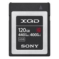索尼(SONY)QD-G120F 存储卡 XQD系列 120G容量 440MB/s读取速度 400MB/s写入速度