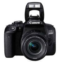 佳能(Canon)EOS 800D 相机 单反套机(EF-S 18-55mm f/4-5.6 IS STM 镜头)单台 黑色