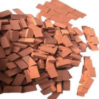 西周韵景 红砖 彩钢房基础地面制作 含沙子水泥 施工