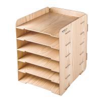 金隆兴(glosen)D9120 桌面木质多层文件架 颜色随机