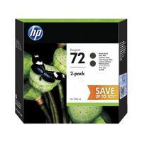 惠普(HP)C9403A 72号墨盒 消光黑MK 双支装 适用T510/T610/T660机型