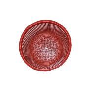 桂鳳 洗菜籃 直徑47cm 高15cm 紅色