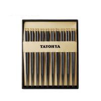 多样屋(TAYOHYA)TA030103040ZZ 朕的谢意合金筷礼盒 邮政订制 10双/盒 单盒