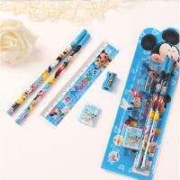 韩之炫 文具套装 含笔 橡皮 卷笔刀 款式随机 包装尺寸23*21cm 10个/套
