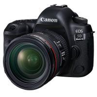 佳能(Canon)EOS 5D Mark IV 5D4 全畫幅單反套機(EF 24-70mm f/4L IS USM 單反鏡頭) 加配E6N電池+相機包+SD卡128G+JZ812三腳架+UV鏡