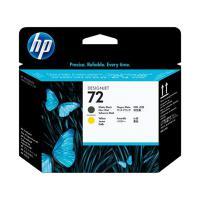 惠普(HP)C9384A 72号打印头 消光黑&黄色 适用T610/770/790/1100/1200/1300/2300机型