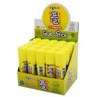 南韩 固体胶15g 黄色 20支/盒 整盒装