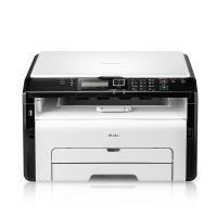 理光(Ricoh)SP 221S A4黑白激光多功能一体机 打印/复印/扫描 USB连接打印 23页/分钟 手动双面打印 适用耗材:SP 200C/SP 100C 一年保修