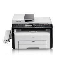 理光(Ricoh)SP 221SF A4黑白激光多功能一体机 打印/复印/扫描/传真 USB连接打印 23页/分钟 手动双面打印 适用耗材:SP 200C/SP 100C 一年保修