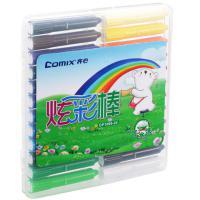 齐心(COMIX)OP1006-24 24色炫彩棒盒装