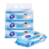 维达(Vinda)婴儿柔湿巾纸巾 婴儿护肤 80片装*3包