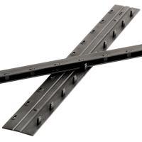 得力(deli)3828 装订夹条12.5mm 可装订90张 黑色 100根/盒 整盒装