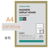 创易(chanyi)CY0871 展示贴 A4磁性即时贴展示牌 单个装 颜色随机