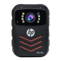 惠普(HP)DSJ-A5s 执法记录仪 1800P红外夜视 4000万高清像素 防爆现场记录仪 官方标配32G