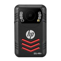 惠普(HP)DSJ-A6x 执法记录仪 1800P红外夜视 4000万高清像素 WiFi 防爆现场记录仪 官方标配64G