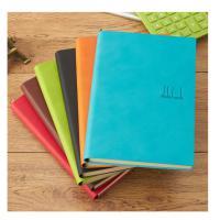 喜通(heeton)A16-870 B5加厚软皮彩色笔记本 橙绿黑棕蓝红六色备注