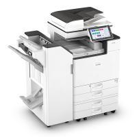 理光(Ricoh)IM C2000 多功能数码复合机 主机 输稿器 四纸盒 1000页小册子装订器 白色 一年质保