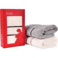 金号(KING SHORE)HY1118-4 毛巾 清然系列 单条彩盒装 单盒 颜色随机
