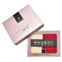 金号(KING SHORE)HY1123-5 毛巾 简爱系列 双条礼盒装天窗版 单盒 红色+香槟色